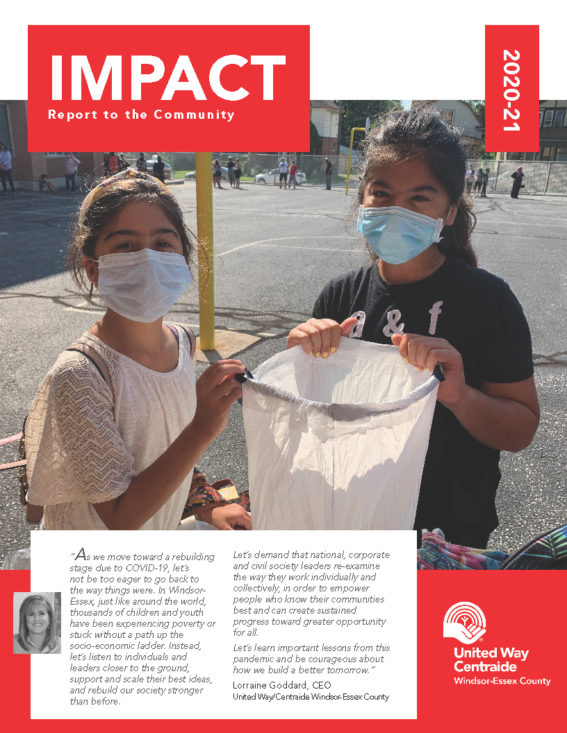 2021 impact report cover image